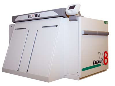 CTP (Computer to Plate) - Formato 8 Paginas - Marca FUJI - Linea LUXEL V-8  CTP CTPS platesetter platesetters