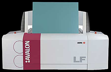 CTP (Computer to Plate) - Formato 8 Paginas - Marca AGFA - Linea AVALON LF CTP CTPS platesetter platesetters